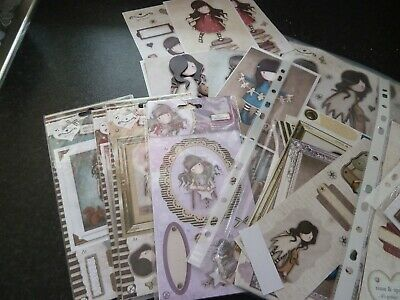 Santoro's Gorguss Decoupage, Toppers, Papers, Cards and Envelopes