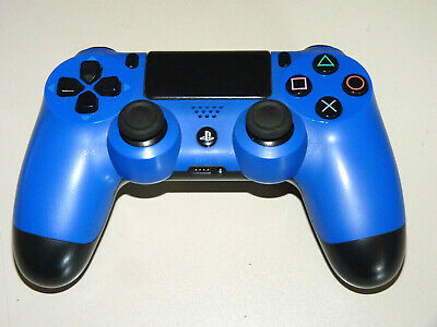 ORIGINAL SONY DUALSHOCK 4 WIRELESS CONTROLLER PLAYSTATION 4 BLAU PS4 PS 4 blue