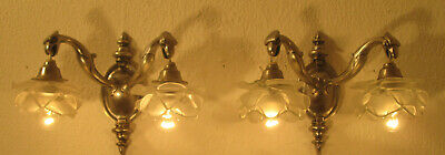Pair Of Beautiful French Art Nouveau Sconces 1900/1910 - Mythical Creatures