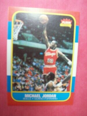 1986-1987 Fleer Michael Jordan Chicago Bulls #57 REPRINT Basketball Card