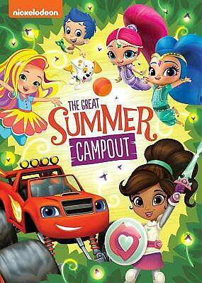 NEW!!! Nickelodeon Favorites: The Great Summer Campout! (DVD, 2018) W/Slipcover