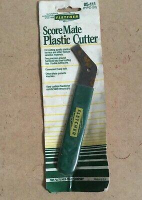Fletchers Score Mate Plastic Cutter Made In USA New Old Stock