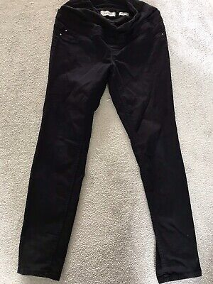 Black Maternity Jeans Over The Bump Style Size 10 Newlook