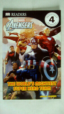 DK Readers Book Marvel Avengers The Worlds Mightiest Super Hero Team Julia March