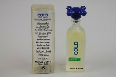 DUO DE 2 FRAGANCIAS EN MINIATURA BENETTON COLD / HOT x 2 EDT 5,5 ml