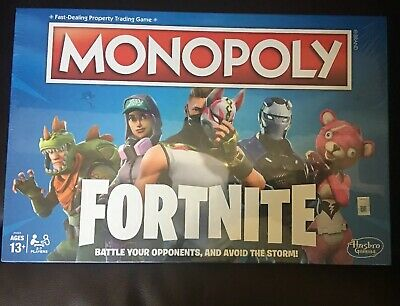 Monopoly: Fortnite Edition Board Game Inspired by Fortnite New Sealed