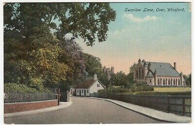 Cheshire; Swanlow Lane, Over, Winsford PPC By W Shaw, 1915, To J Forster, Moore