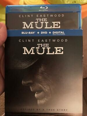 The Mule Blu-ray Disc with case-slipcover. Free First Class shipping w tracking