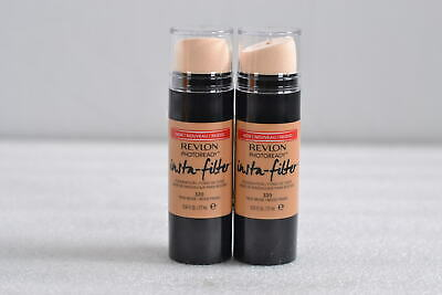 LOT OF 2, Revlon Photoready Insta-Filter Foundation, 320, True Beige