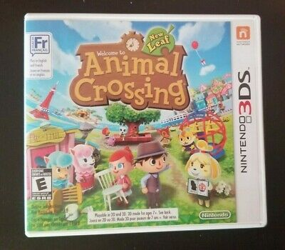 Animal Crossing: New Leaf (Nintendo 3DS, 2013) COMPLETE & TESTED