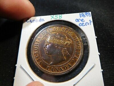 X58 Canada 1898 Large Cent