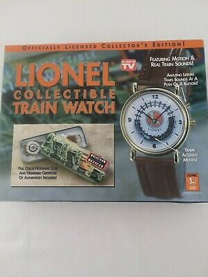 Lionel Collectible Train Watch Numbered