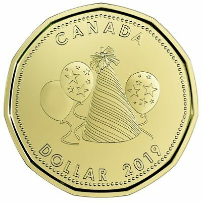 2019 Canada Uncirculated Birthday gift set - IN STOCK - special dollar coin