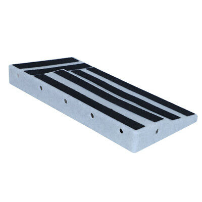 Guitar Effect Pedal Board ABS Plastic Pedalboard Practical For Music Players