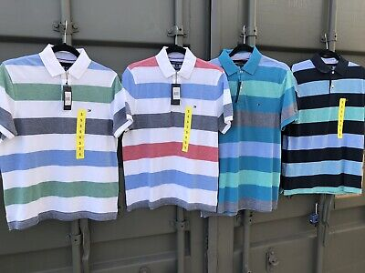 Mens Tommy Hilfiger Polo Shirt, Collared Cotton Tshirt. Kelson