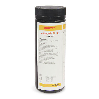 11-14 Parameter Urinalysis Reagent Test Strips (100-200 Strips) for Contec BC401