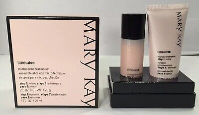 Mary Kay Timewise Microdermabrasion Set Step 1: Refine Step 2: Replenish - NIB