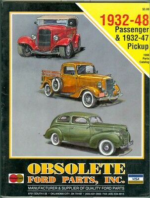 OBSOLETE PARTS-ANTIQUE AUTO Restoration-Ford-Model A-'28-'31-Catalog