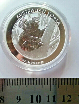 1 oz Silver Coin Perth Mint Koala 2013 Sending from Australia.