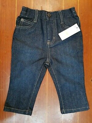 Fab Baby Dark Blue Calvin Klein Jeans Size 12M - New With Tags