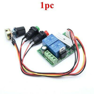 6V-24V 3A DC Motor Speed Controller PWM Regulator Reversible Switch DB