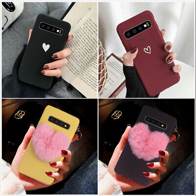 Fr Samsung Galaxy S10 Plus Case Shockproof Armor Hybrid Rubber Phone Cover Women