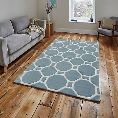 Small Large Geometric Contemporary Soft Acrylic Mat Modern Hong Kong HK4338 Rugs