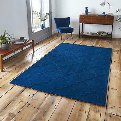 Modern Hong Kong HK8583 Rugs Soft Thick Plain Colour Contemporary Trellis Carpet