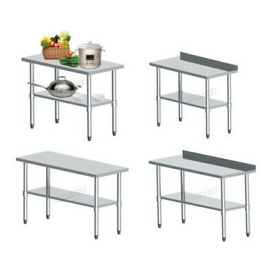 WestWood Stainless Steel Commercial Catering Table Work Bench Kitchen Top New