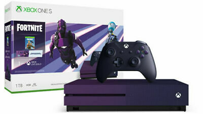 Xbox One S 1TB Fortnite Limited Edition Bundle Best Kids Gaming Console