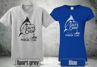 quality design 30c33 f2720 New Salty Crew Marlin Club Men s Women s Tee T-Shirt Usa Size ...