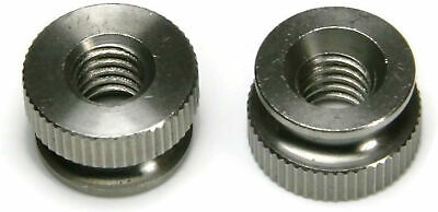 18-8 Stainless Steel Knurled Thumb Nuts - USA Made - Select Size & Qty