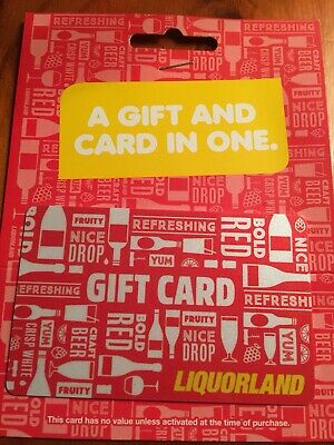 Giftcard Liquorland $30 Free Express Post Delivery