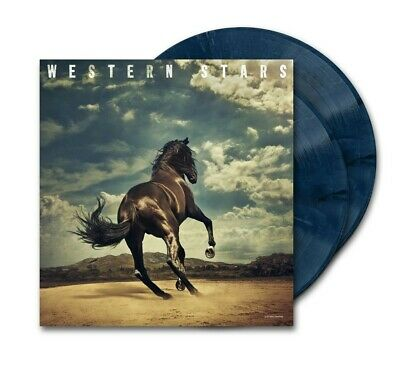 Bruce Springsteen - Western Stars LIMITED EDITION EXCLUSIVE Blue Vinyl Pre-Order