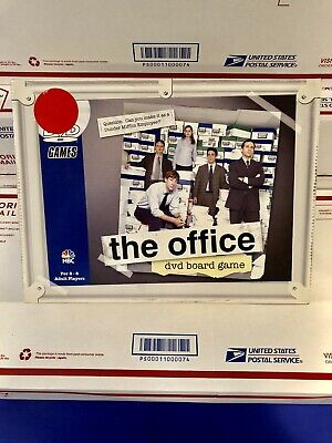 The Office DVD Board Game Pressman NBC 2008 Dunder Mifflin Trivia 100% Compl