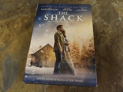 The Shack (DVD, 2017) Tested - Scratch Free!