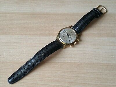 Gent's Vintage Gold Plated Manual Winding Precista Chronograph Wrist Watch
