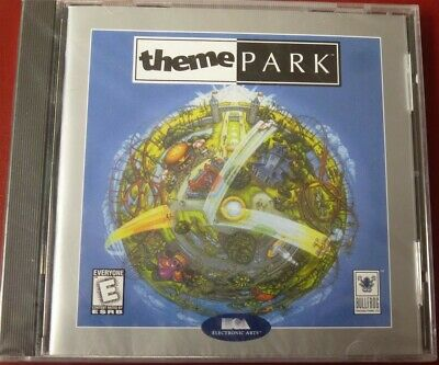 Video Game PC Theme Park Original 1994 NEW SEALED Jewel