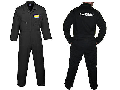 New Holland custom embroidered Boiler suit / Overall / Coverall