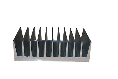 "4.250"" Wide Extruded Aluminum Heatsink (BY THE INCH) MADE IN THE USA"