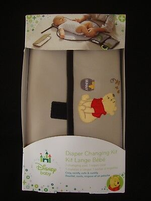 DISNEY POOH TAKE ME ALONG  (pouch style) change pad with storage NWTS