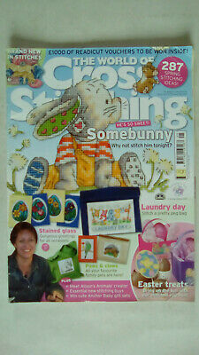 The World of Cross Stitching Magazine Issue 136 ACCEPTABLE CONDITION NO GIFT