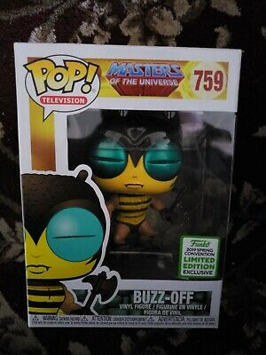 Funko Pop Buzz Masters of The Universe ECCC