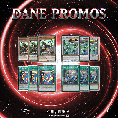 DANE PROMOS x3 | DANE Beatraptor Shooting Riser Fury Magicalized Fusion YuGiOh