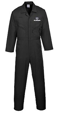 Scania custom embroidered Boiler suit / Overall / Coverall