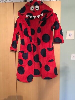 M & S Kids Dressing Gown Age 5-6 Y