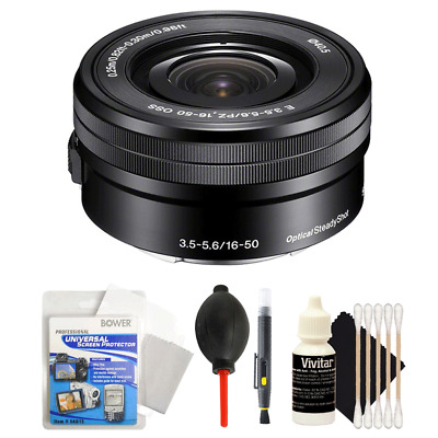 Sony SELP1650 16-50mm Power Zoom Lens + Accessories