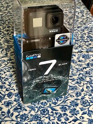 Brand new GoPro HERO 7 BLACK Action Camera. In unopened packaging. Unwanted gift