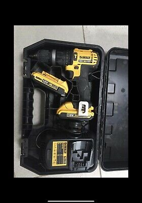 Dewalt Dcd 785 Drill 2 Batterys 2.0ah Charger And Case