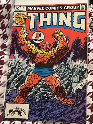 The Thing #1 - Marvel Comics - July 1983 - 1st Print - Fantastic Four
